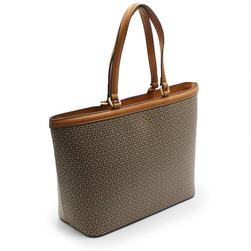 Bolsa Capodarte Feminina Bege/Nociolla - 239905