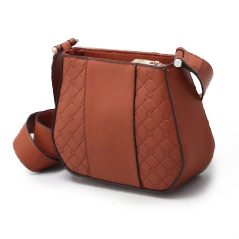 Bolsa Capodarte Transversal Feminina Nocciola - 237967