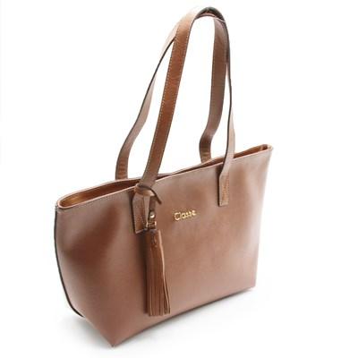 Bolsa Classe Couro Feminina Castor - 242851