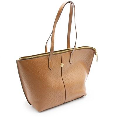 Bolsa Classe Couro Feminina Nocciola - 239629