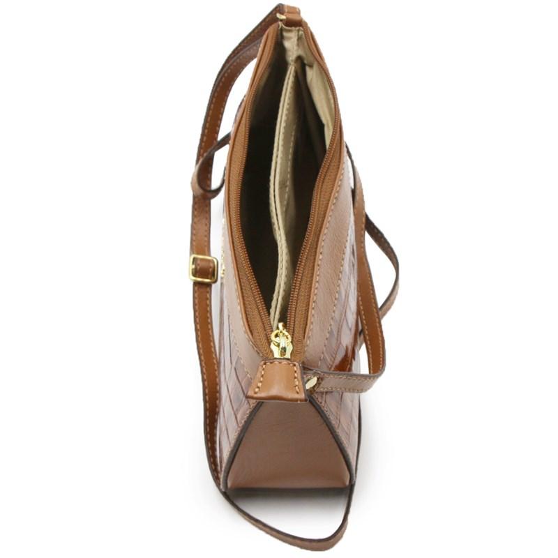Bolsa Classe Couro Feminina Nocciola - 241029