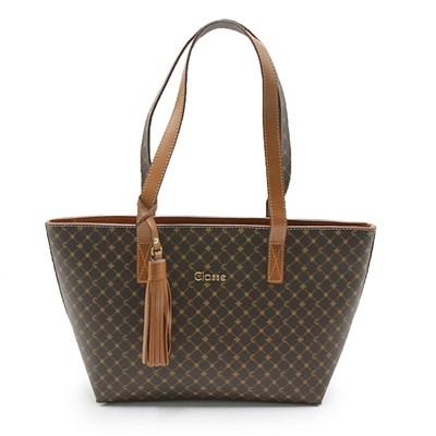Bolsa Classe Couro Feminina Nocciola - 242851