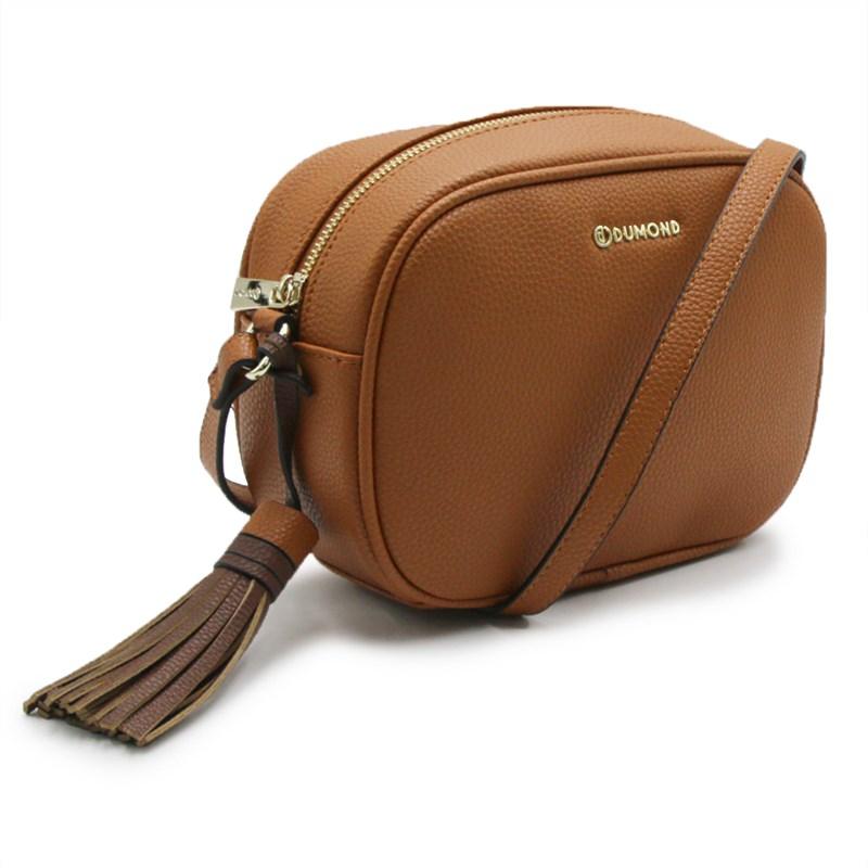 Bolsa Dumond Feminina Mel/Azul - 243481