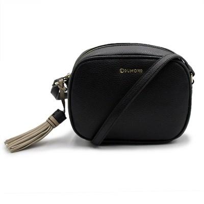 Bolsa Dumond Feminina Preto/Aveia - 243481