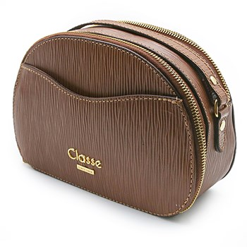Bolsa Feminina Classe Couro Castor - 231122