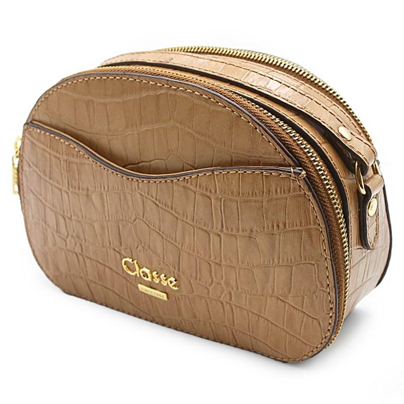 Bolsa Feminina Classe Couro Nocciola - 231122