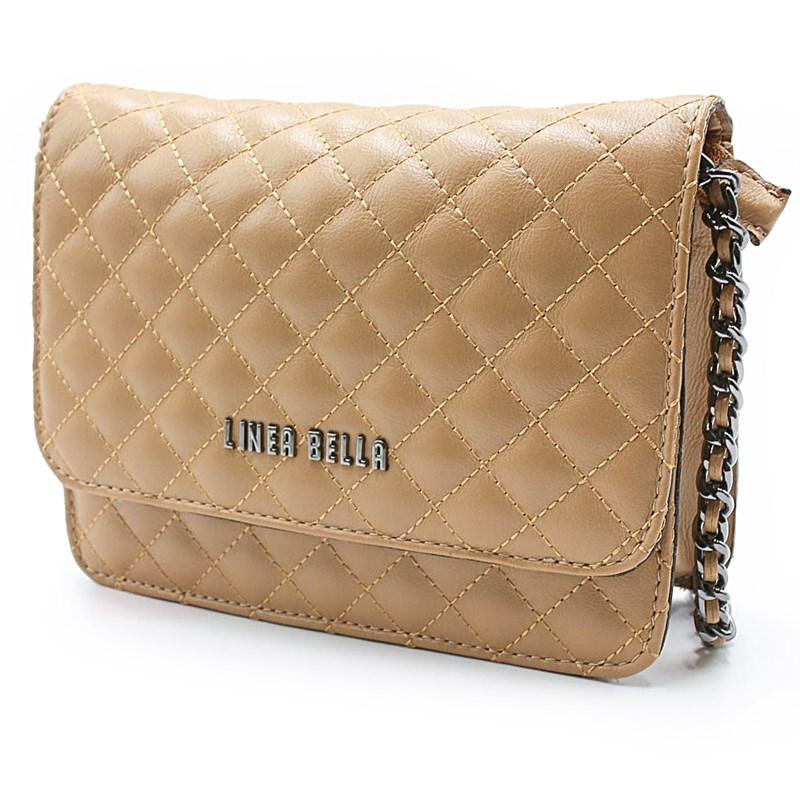 Bolsa Feminina Linea Bella Tan - 229319