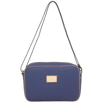Bolsa Smart Bag Transversal Feminina Marinho/Camel - 236877
