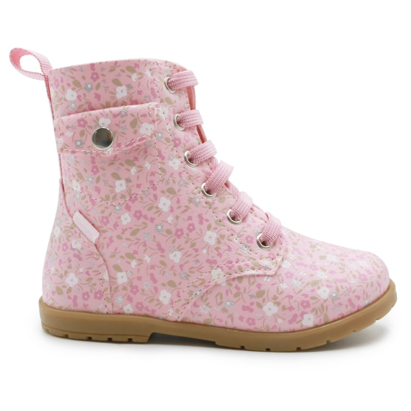 Bota Pampili Infantil Rosa Glace - 240878
