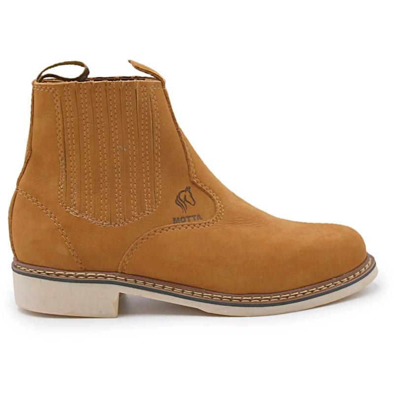 Botina Motta Camel - 234545