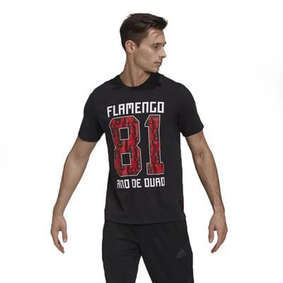 Camiseta Adidas Flamengo Multicolorido - 239420