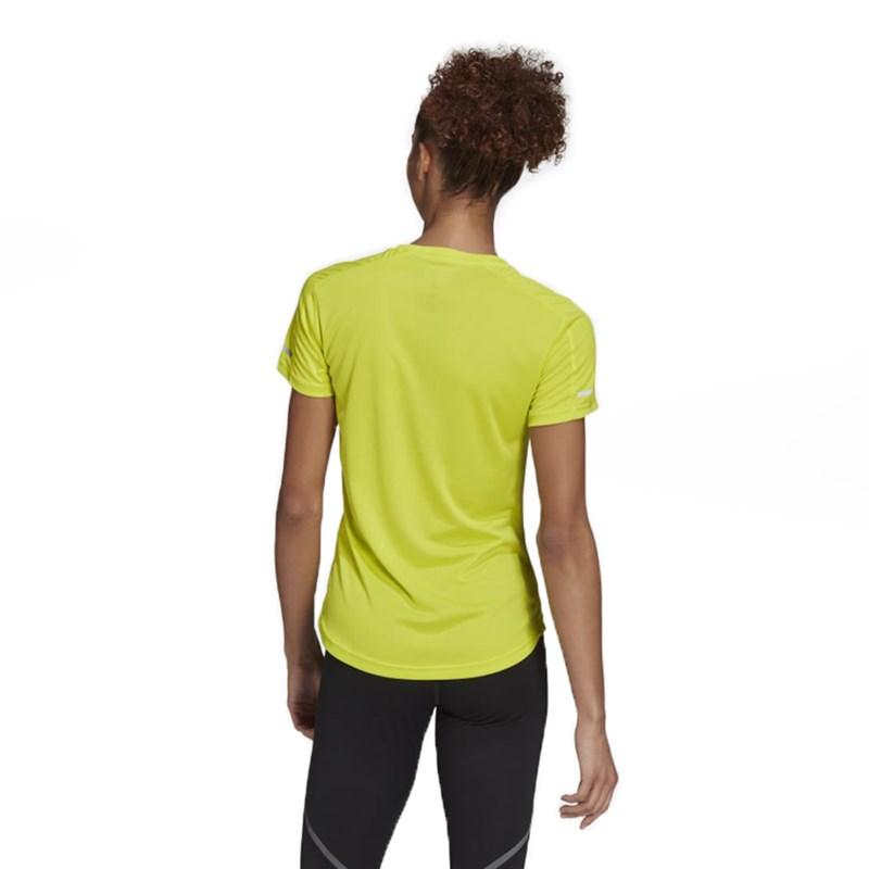 Camiseta Feminina Adidas Run It Multicolorido - 239502