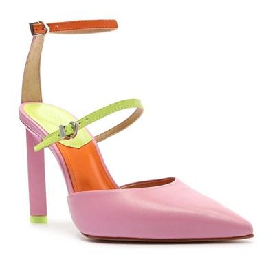 Chanel Schutz Feminino Rose/Green - 244762