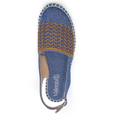 Chanel Valentina Azul/Caramelo - 228734