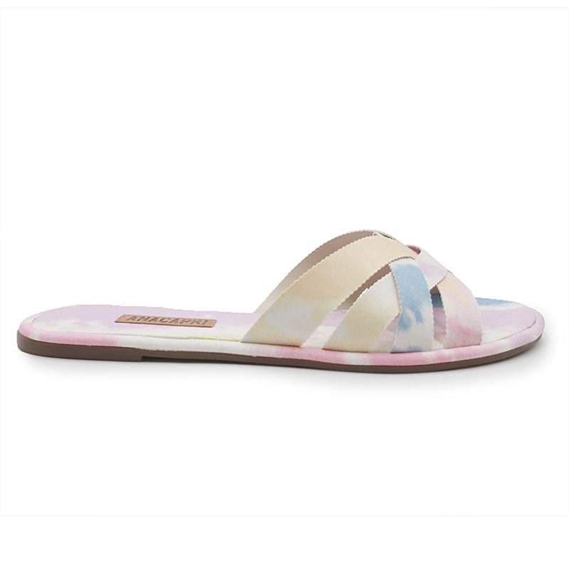 Chinelo Ana Capri Multicolorido - 233488
