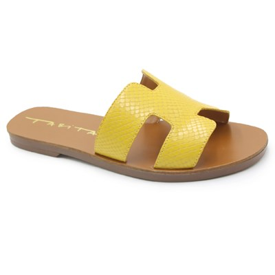 Chinelo Feminino Tabita Yellow - 239426
