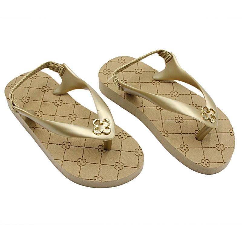 Chinelo Infantil Capodarte Ouro - 230918