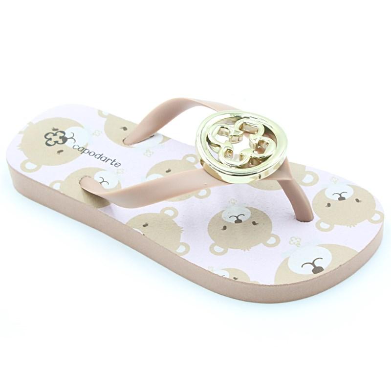 Chinelo Infantil Capodarte Rose - 230921