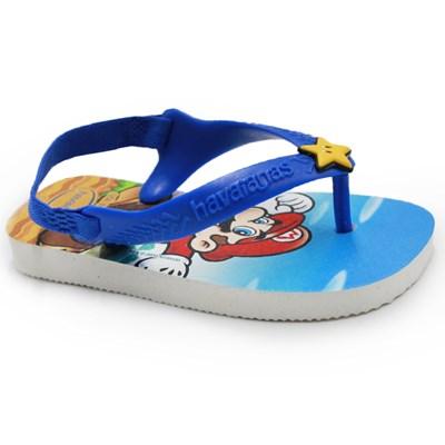 Chinelo Infantil Havaianas Super Mario 0001 - 237160