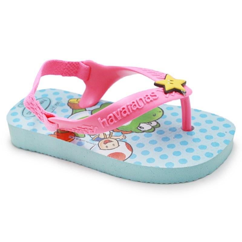 Chinelo Infantil Havaianas Super Mario 1669 - 237160