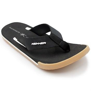 Chinelo Kenner Kicks Preto/Crepe - 209181