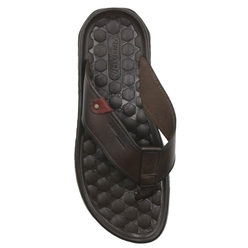 Chinelo Masculino Pegada Brown/Jeans - 239095