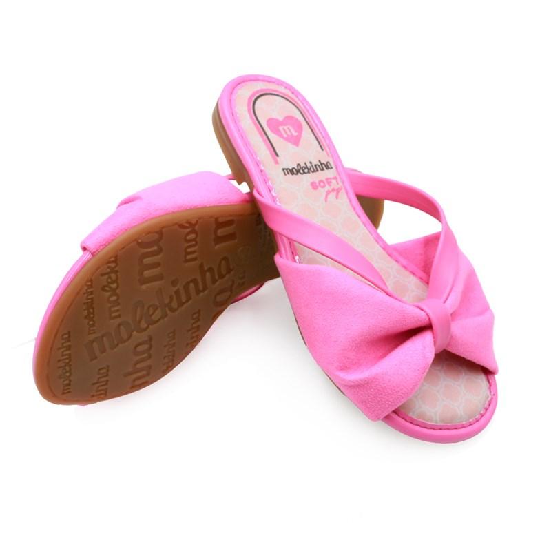 Chinelo Molekinha Pink - 234981