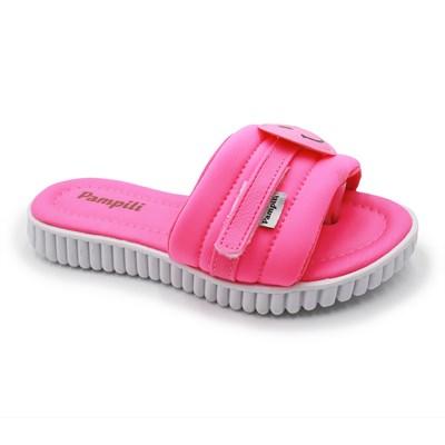 Chinelo Pampili Infantil Pink/Fluor - 245005