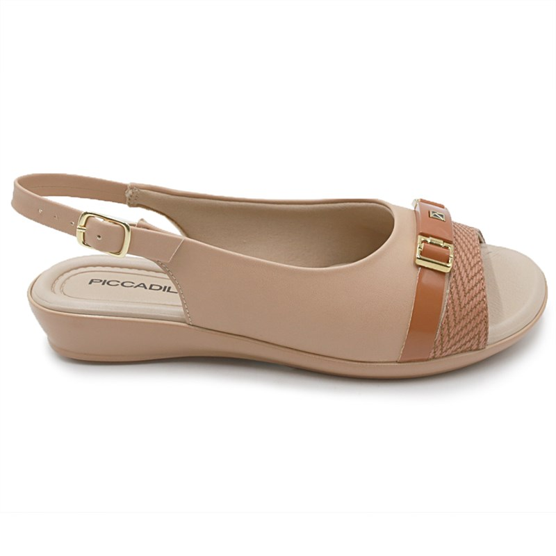 Chinelo Piccadilly Nude/Ocre - 233471