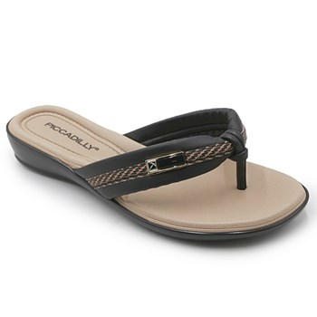Chinelo Piccadilly Preto - 233461