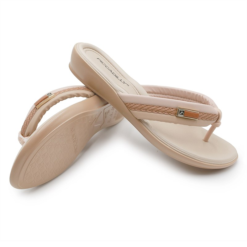 Chinelo Piccadilly Rose/Nude - 233461