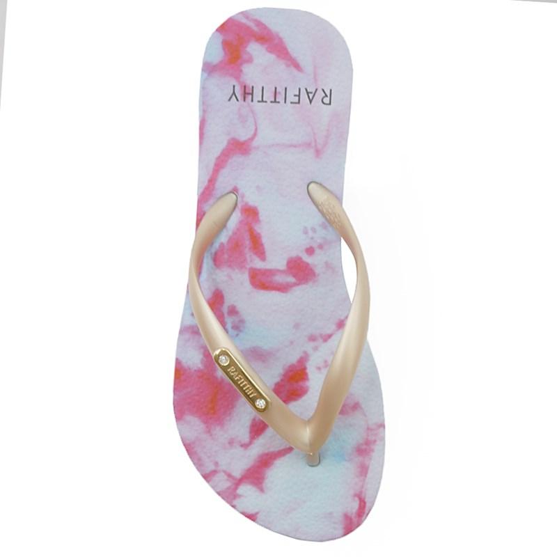 Chinelo Rafitthy Tie Dye/Branco - 233454