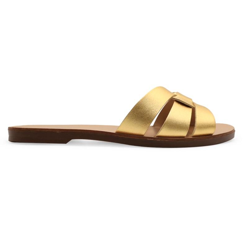 Chinelo Tabita Ouro - 236273
