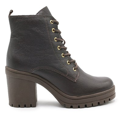 Coturno Feminino Bottero Dark Brown - 228190