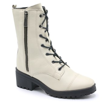 Coturno Feminino Bottero Off White - 228192