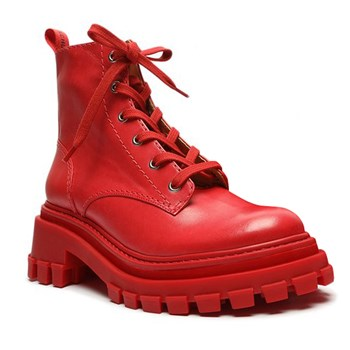 Coturno Feminino Schutz Club Red - 239086
