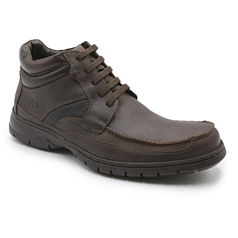 Coturno Masculino Anatomic Gel Brown - 226080