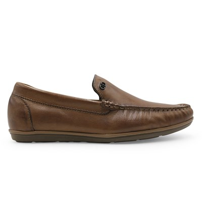 Mocassim Democrata Tan - 235076