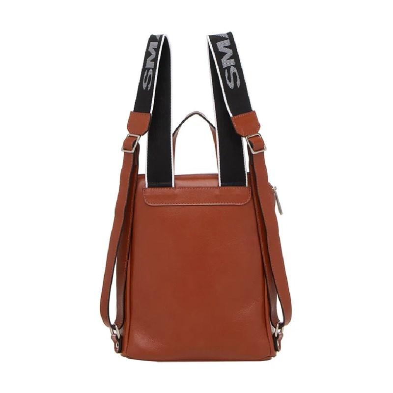 Mochila Smart Bag Feminina Conhaque - 238779