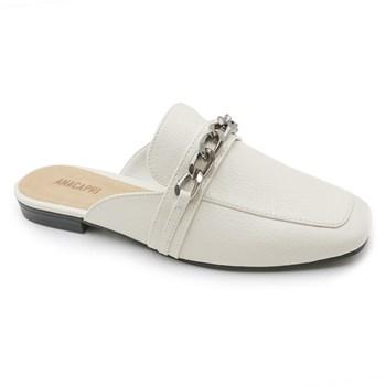 Mule Ana Capri Feminino White - 241495