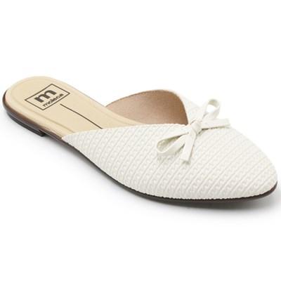 Mule Moleca Feminino Branco/Off - 242157