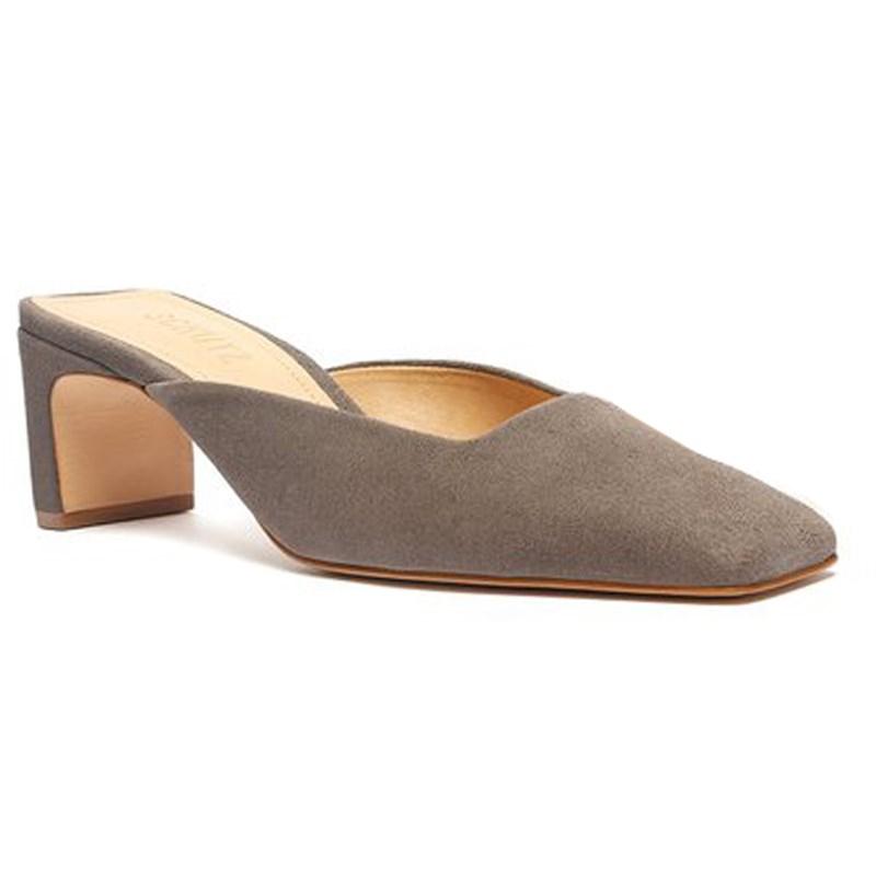 Mule Schutz Feminino Dark Grey - 239136