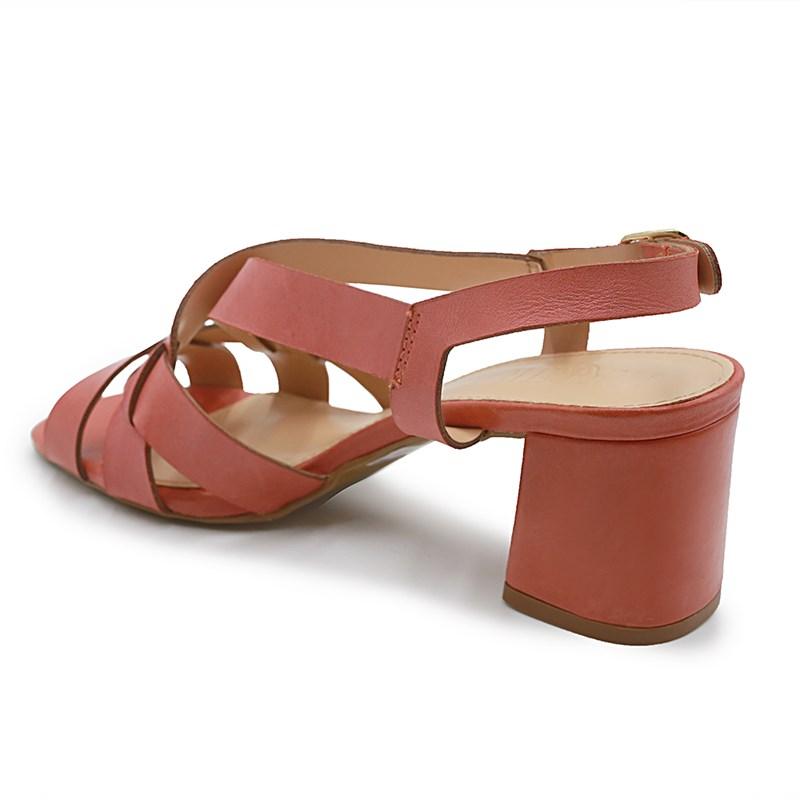 Sandalia Adn Ferrete Tangerina - 223091