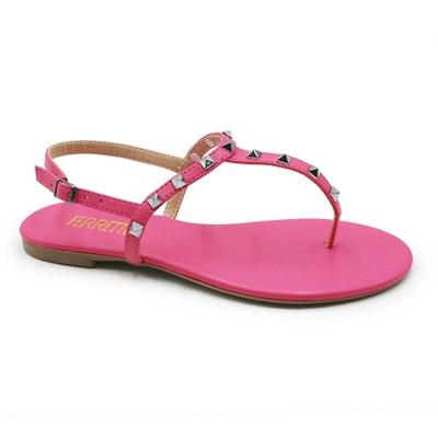 Sandalia Adora Ferrette Feminina Flamingo - 245324