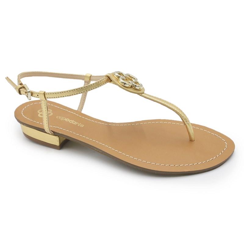 Sandalia Capodarte Ouro - 234194