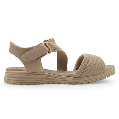 Sandalia Comfortflex Nude - 235485