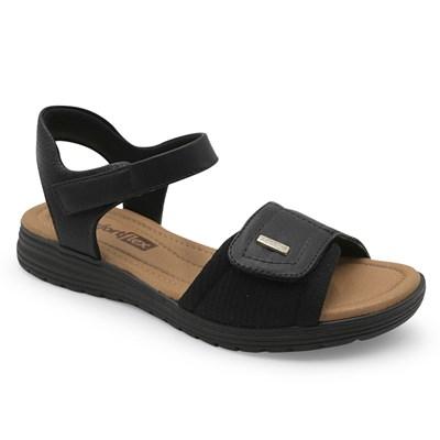 Sandalia Comfortflex Preto - 235484