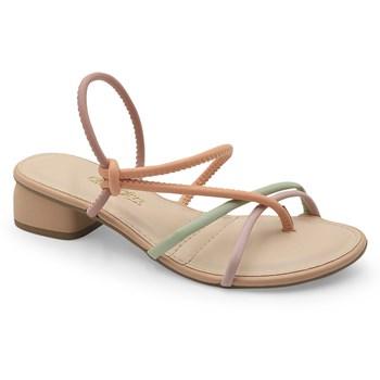 Sandalia Dakota Caju/Quartzo - 235683