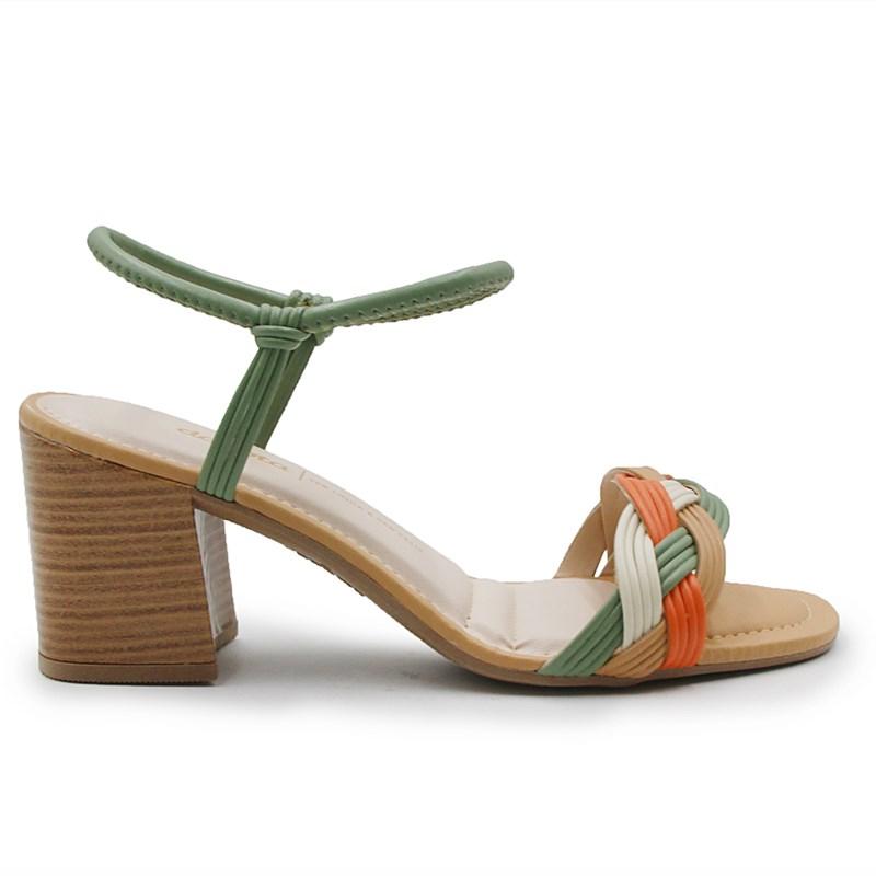 Sandalia Dakota Feminina Citrus - 243766