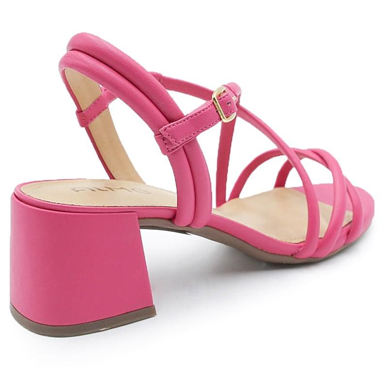 Sandalia Feminina Alme Pink - 222101
